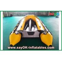 Wholesale 0.8mm PVC Inflatable Boats Aluminium Bottom 3.3m Long For 5 Peopel from china suppliers