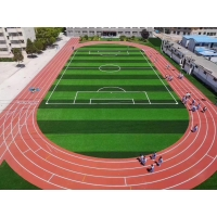Polyurethane Sports Flooring for  Outdoor Sandwich System Synthetic Athletic Track and Field Surface Construction