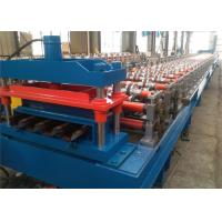 Wholesale Metal Tile Floor Deck Roll Forming Machine , Steel Roll Forming Machine Easy Operation from china suppliers