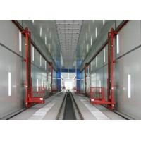 Wholesale 56 Meters Train / Truck Spray Booth High Efficient With Lifter Access Pit from china suppliers