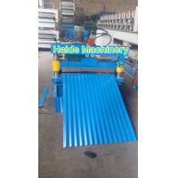 Wholesale Metal Color Steel Roll Forming Machine , Corrugated Tile Roll Forming Machine 4KW from china suppliers