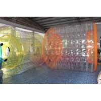 Wholesale Clear PVC Inflatable Water Games / Transparent Inflatable Rolling Tube from china suppliers
