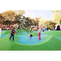 Wholesale Custom Playground Rubber Flooring , Environment Friendly Rubber Granules For Playground from china suppliers