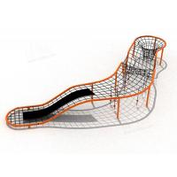 China Galvanized Pipe Materials Childrens Outdoor Playset Metal Climbing Frame for sale on sale