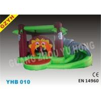 Quality Children s Indoor Jungle Inflatable Jumpers Bouncer Slide YHB-010 for Toddlers for sale