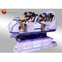 Wholesale 360 Degree View 6 Seater Cool Shape 9D Vr Cinema With Precise Motion Feeling from china suppliers