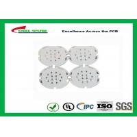 Wholesale 1 Layer PCB LED Aluminium Base Printed Circuit Board , White Solder Mask from china suppliers