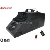 Wholesale 110 - 130v Single Wheel Stage Fog Machine , 8m Output Distance from china suppliers