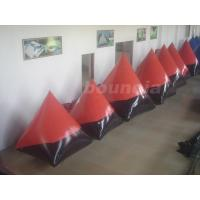 Wholesale Red 0.6mm/0.9mm inflatable doritos shape air bunker for commercial use from china suppliers