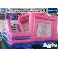 Wholesale Pink Princess Inflatable Bouncer Combo Kid's Party Games Bouncy Castle from china suppliers