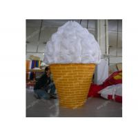 Wholesale Woderful Decorative Inflatable Model , PVC Inflatable Ice Cream Cone from china suppliers
