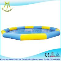 Wholesale Hansel Commercial Grade Inflatable Water Pool For Water Ball Or Paddle Boats from china suppliers
