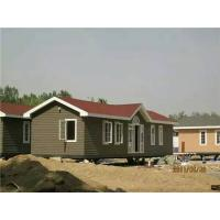 Wholesale Eco - Friendly External Brown WPC House With High Impact Resistant from china suppliers