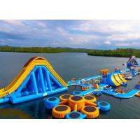 Wholesale Large Inflatable Water Obstacle , Aqua Blow Up Water Park CE Approved from china suppliers