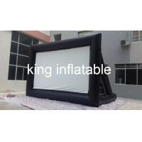Wholesale Big Airtight Inflatable Movie Screens CE Appoval PVC Tarpaulin from china suppliers