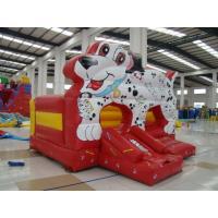 Amusement Park Inflatable Castle Bouncer , Commercial Grade Bounce House