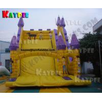 Wholesale Commercial Castle Slide Inflatable slide Game Colourful slide from china suppliers