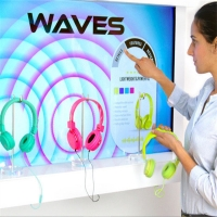Wholesale Yingmi New Design Interactive Showcase Sensing Technology  Retail Digital Display For Shop from china suppliers