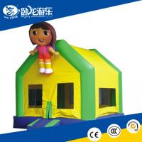 Buy cheap inflatable bouncer house, indoor inflatable trampoline from wholesalers