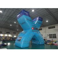 Wholesale Digital Print Inflatable Paintball Bunkers With 0.6mm PVC Tarpaulin Material from china suppliers
