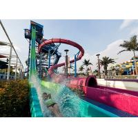 Wholesale Funny Fast Fall Water Slide Playground With Fiberglass Galvanize Steel Material from china suppliers