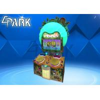 China Blossom The Drum Hit Beat Game Machine / Coin - Operated Games Lottery Redemption Machine on sale