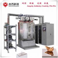 Wholesale Pvd Coated Color Mirror Vacuum Ion Plating Machine, Glass PVD TiN Gold Plating Equipment from china suppliers