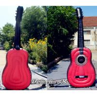 Wholesale 3m/4m Height Inflatable Guitar for Music Festival and Concert Decoration from china suppliers