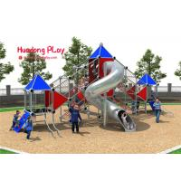 China Big Stainless Steel Tube Children'S Climbing Structures For Amusement Park Kindergarden on sale