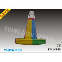 Wholesale Fire - retardant 0.55mm PVC Inflatable Climbing Wall YHCW 003 with 1100W CE / UL Blower from china suppliers