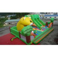 Wholesale 2014 hot sell commercial grade inflatable castle /inflatable trampoline from china suppliers