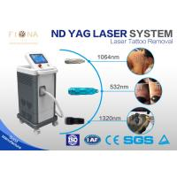 Buy cheap High Speed Q Switched ND YAG Laser Tattoo Removal Machine 800W 45 * 40 * 57cm from wholesalers
