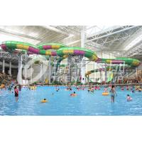 China Commercial Fiberglass Water Roller Coaster Slide For Family Amusement Parks on sale