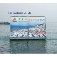 Buy cheap Inflatable Water Billboard(Various Sizes,Designs) from wholesalers