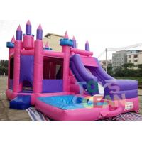 Buy cheap Colourful Inflatable Bouncer Jumping Funny Castle Combo For Kids Amusement from wholesalers