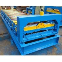 Wholesale Iron Roof Panel Roll Forming Machine 380v 3 Phrases 50hz Frequency from china suppliers
