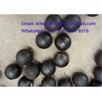 Wholesale High Chrome Cr 10% Cast Iron Steeel Balls for mining grinding from china suppliers
