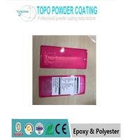 Wholesale Thermosetting Polyester Commercial Powder Coating PANTONG806C Red Color from china suppliers