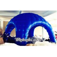 Wholesale 5m Blue Advertising Inflatable Dome Tent for Exhibition and Events from china suppliers