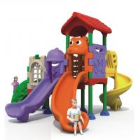 Wholesale Hot sale outdoor playground with plastic  slide  for kids from china suppliers
