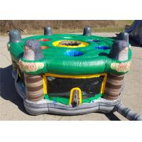 Outdoor And Indoor Inflatable Sport Games For Interactive Fun Customized Size