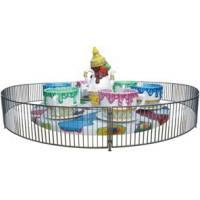 Wholesale Rotating Amusement Coffee Cup Family Fun Ride For Fairground , 24 Passengers from china suppliers