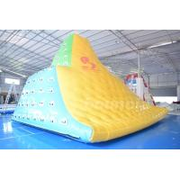 Wholesale 0.9mm Commercial Grade PVC Tarpauline Durable Inflatable Water Iceberg from china suppliers