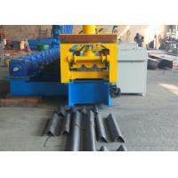 Buy cheap Type 310 Gear Driven Highway Guardrail Roll Forming Machine 37kw Reducer Power from wholesalers