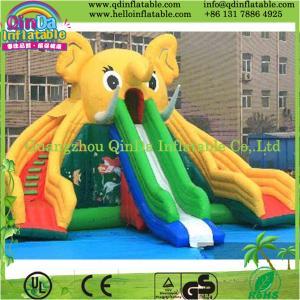 Guangzhou QinDa Inflatable Slide for Pool Water Slides for Sale Inflatable Elephant Slide