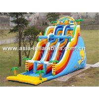 China Cool The Summer,Inflatable Water Slide For Water Park Games on sale
