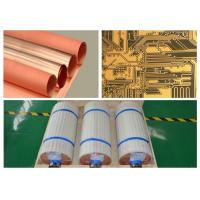 Wholesale Single Side Type Copper Foil Sheet 18 Micron Width 530 Mm With High Peel Strength from china suppliers