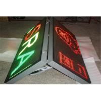 Wholesale P8 Street Advertising Signs , Board Front Open Double Sided LED Display from china suppliers