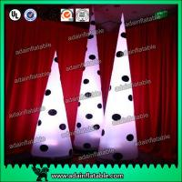 Wholesale Lighting Spot Inflatable Cone For Stage Decoration Performance Decoration from china suppliers