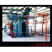 Buy cheap Roller Conveyor Type H Beam Shot Blast Machine / Automatic Shot Blasting Equipment from wholesalers